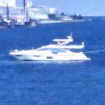 都内でアジムット ヨット(Azimut Yachts)?を眺めるスポット 京浜大橋