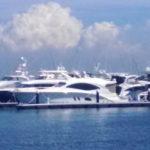 Azimut(アジムット)のヨット・クルーザーがみれるスポット 横浜ベイサイド マリーナ