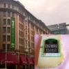 日本橋の高島屋でイタリアチーズを販売しているChescoでペコリーノ・ブラック・トリュフを購入してきました。